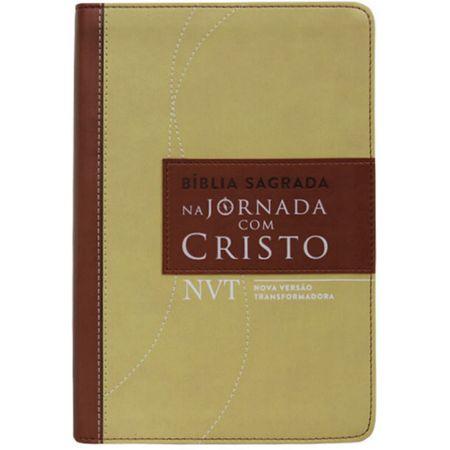 Tudo sobre 'Bíblia de Estudo na Jornada com Cristo NVT Marrom'