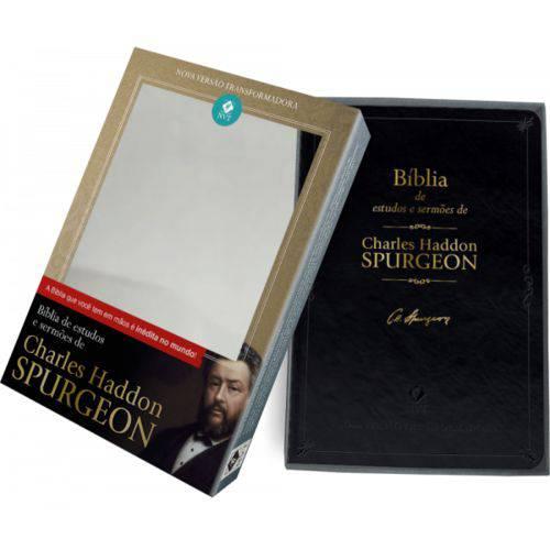 Tudo sobre 'Bíblia de Estudos e Sermões de Charles Spurgeon'