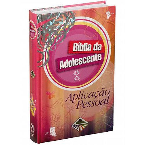 Bíblia do Adolescente Aplicação Pessoal Capa Dura