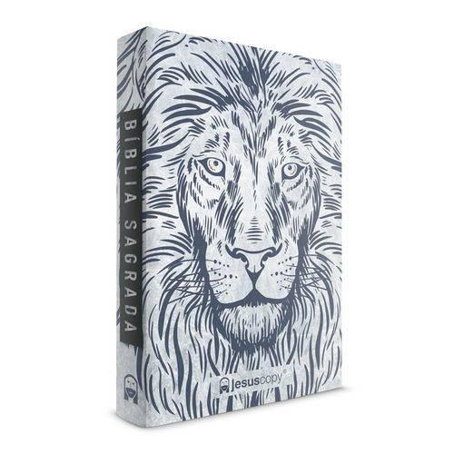 Tudo sobre 'Bíblia Jesuscopy Leão Branco - Capa Dura'