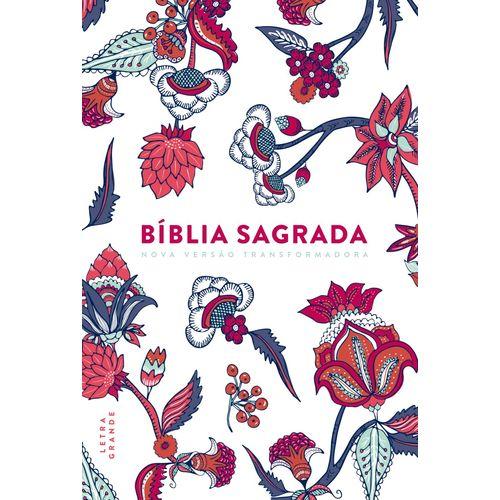 Tudo sobre 'Bíblia Nvt -Flower Branca - Letra Grande'