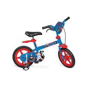 Bicicleta 12 Capitão América Bandeirante - Azul