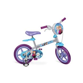 Bicicleta 12 Disney Frozen Bandeirante - Cinza