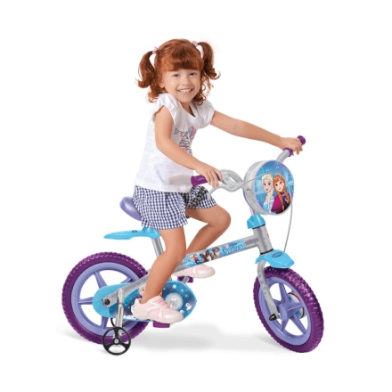 "Bicicleta 12"" Frozen Disney - 2459 - Brinquedos Bandeirante"