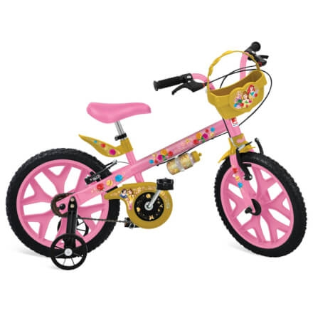 Bicicleta Princesas Disney Bandeirante Aro 16 - Brinquedos Bandeirante