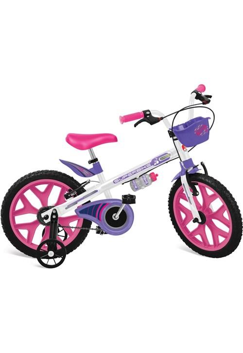 "Bicicleta 16"""" Superbike (Branca)"