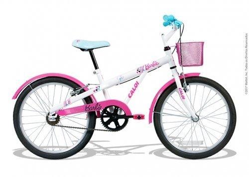 Bicicleta Aro 20 Barbie Caloi