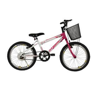 """Bicicleta Aro 20"""" Charmy Athor - Rosa"""