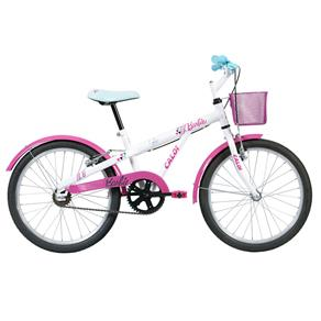 Bicicleta Aro 20 - Disney - Barbie - Rosa - Caloi - AMARELO