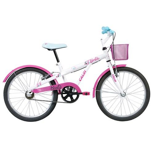 Bicicleta Aro 20 - Disney - Barbie - Rosa - Caloi