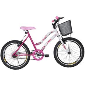 """Bicicleta Aro 20"""" Melissa Athor - Rosa"""