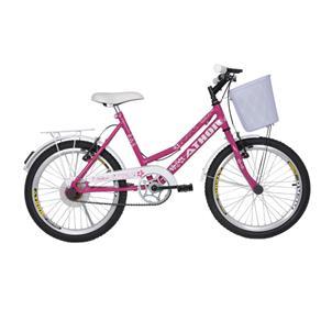 "Bicicleta Aro 20"" Nature Athor - Rosa"