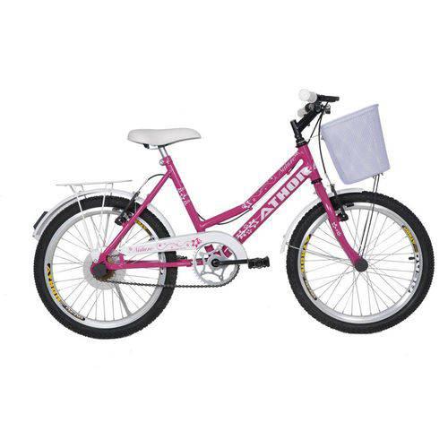 "Bicicleta Aro 20"" Nature Rosa Athor"