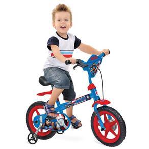 Bicicleta Aro 12 Capitão América Bandeirante