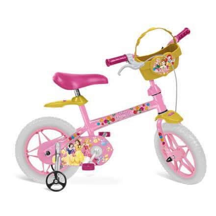 Bicicleta ARO 12 Princesas Disney - Bandeirante - Brinquedos Bandeirante