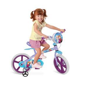 Bicicleta Aro 14 - Dizney Frozen - Bandeirante