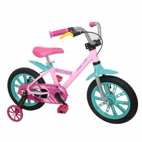 Tudo sobre 'Bicicleta Aro 14 Feminina First Pro - Nathor'