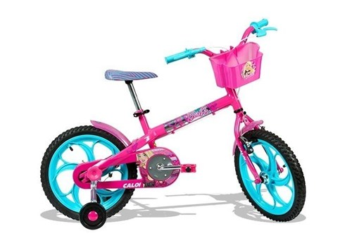 Bicicleta Aro 16 Barbie Caloi
