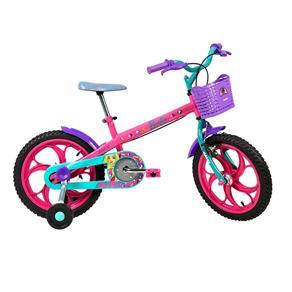 Bicicleta Aro 16 Caloi Barbie - Rosa