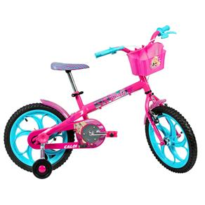 Bicicleta Aro 16 Caloi Barbie T10R16V1 - Rosa
