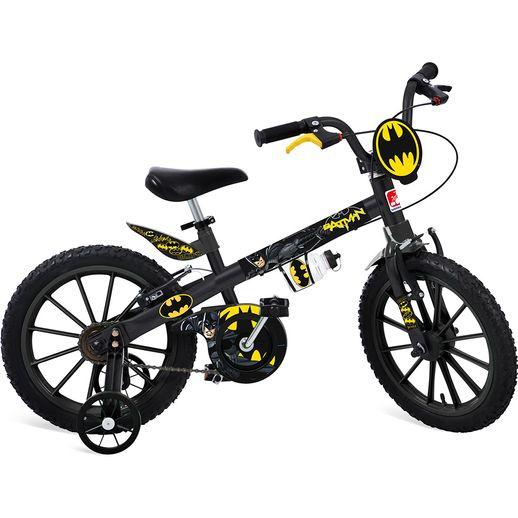 Tudo sobre 'Bicicleta Aro 16 com Rodinhas Batman - Bandeirante'