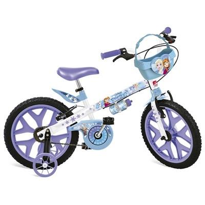 Bicicleta Aro 16 Frozen Disney 2499 Bandeirante