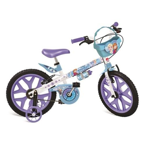 Bicicleta Aro 16 - Frozen Disney - Bandeirante - BANDEIRANTE