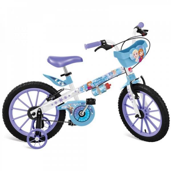 Bicicleta Aro 16 Frozen Disney Bandeirantes
