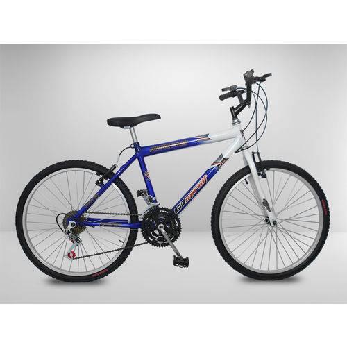 Tudo sobre 'Bicicleta Aro 24 Azul 18 Marchas'