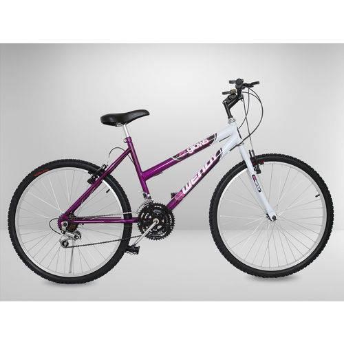 Tudo sobre 'Bicicleta Aro 24 Roxa 18 Marchas'