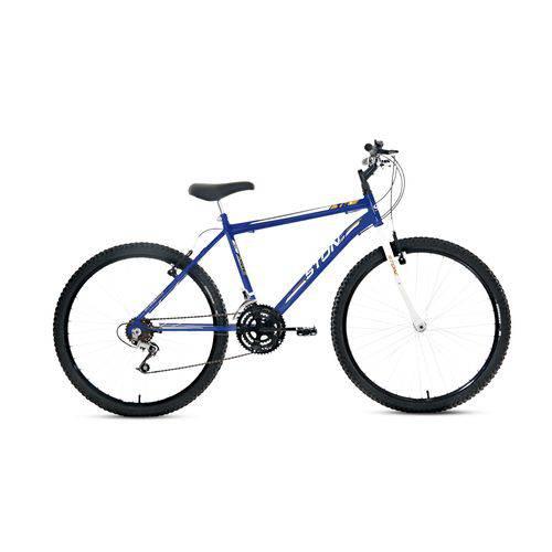 Bicicleta Aro 26 18V Masculina Azul - TR1