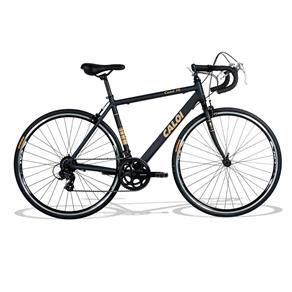 Bicicleta Aro 26 Caloi 10 Alumínio com 14 Marchas - Preto Fosco