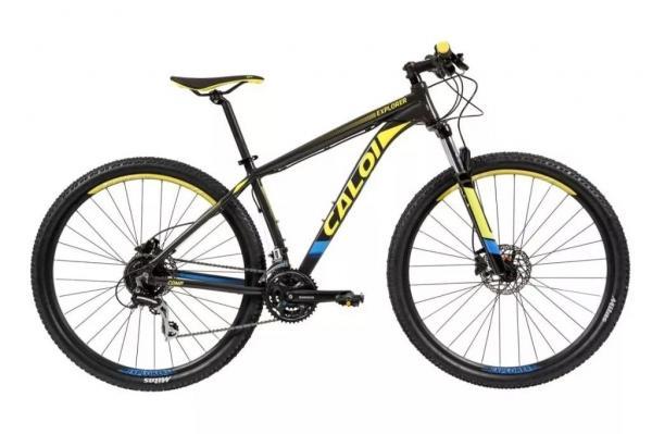 Bicicleta Aro 29 Caloi Explorer Comp 2019 Top