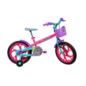 Bicicleta Barbie Aro 16 - Caloi