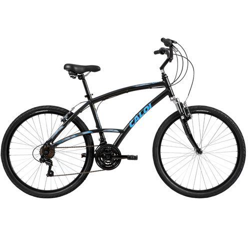 Bicicleta Caloi 500 - Aro 26, 21v-Preto