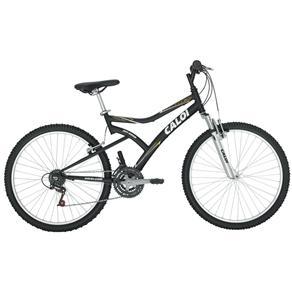 Bicicleta Caloi Andes Aro 26 C/ 21 Marchas Preto Fosco