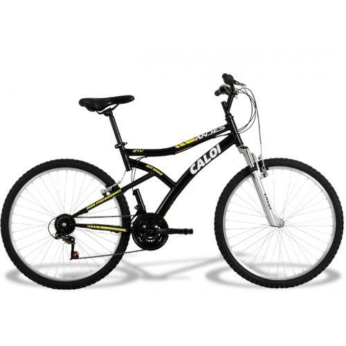 Bicicleta Caloi Aro 26 com 21 Marchas Andes 2014