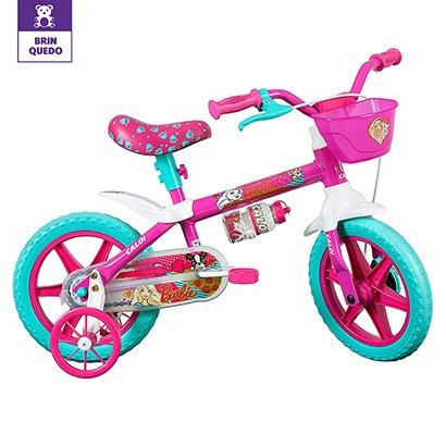 Bicicleta Caloi Barbie Aro 12