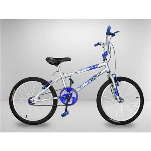 Tudo sobre 'Bicicleta Cross Bmx Light Azul Aro 20'