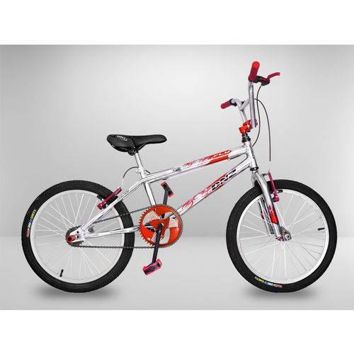 Tudo sobre 'Bicicleta Cross Bmx Light Vermelha Aro 20'