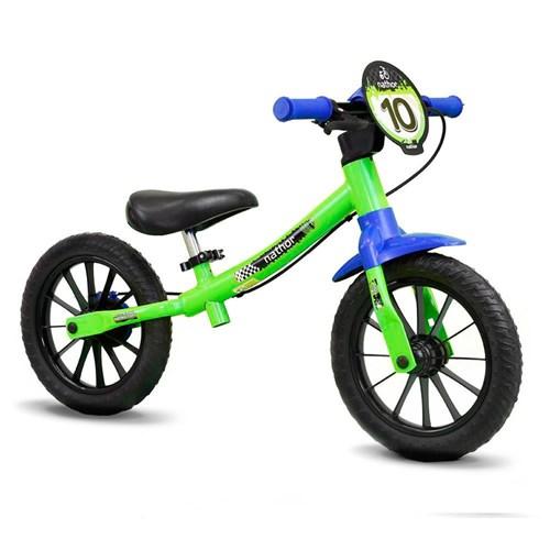 Bicicleta de Equilíbrio Balance Bike Masculino Nathor