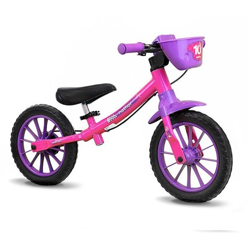 Tudo sobre 'Bicicleta de Equilíbrio Balance Bike Rosa Nathor'