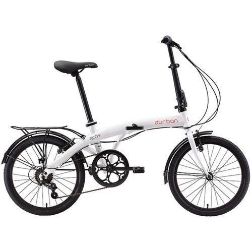 Tudo sobre 'Bicicleta Dobrável Durban Eco+ Aro 20 6V Comfort Branca'