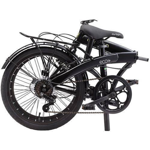 Tudo sobre 'Bicicleta Dobrável Durban Eco+ Aro 20 6V Comfort Preta'