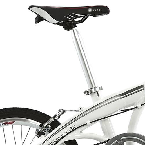 Tudo sobre 'Bicicleta Dobrável Tito Bike To Go 20 Branca'
