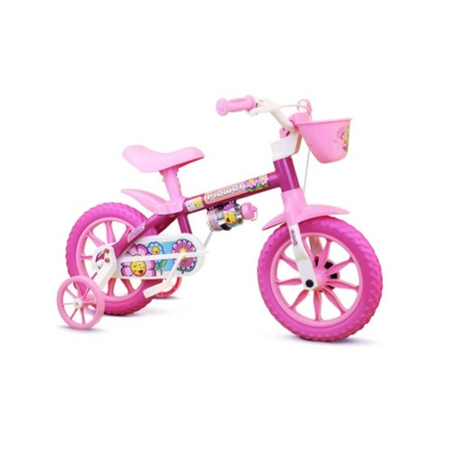 Bicicleta Flower Aro 12 - Nathor