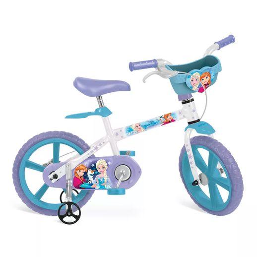Tudo sobre 'Bicicleta Frozen Aro 14 com Cestinha - Bandeirante'
