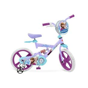 Bicicleta Frozen Disney ARO 14 Bandeirante 2448