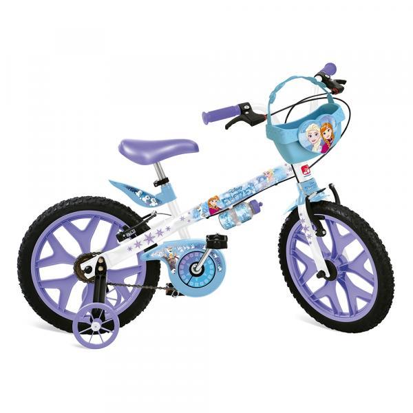 Bicicleta Frozen Disney Aro 16 - Bandeirante - Bandeirantes