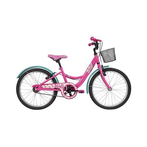 Bicicleta Infantil Aro 20 Caloi Barbie Rosa